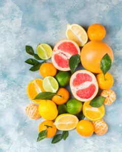 Citrus fruits are very good for our immunity